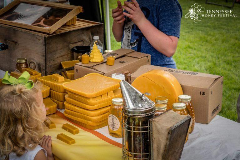Honey Vendors at the TN Honey Festival