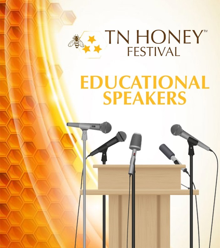 Who Will Be Speaking At The Educational Tent at The Tennessee Honey Festival?